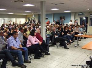 Réunion publique du collectif T'Air-Eau 94 à St-Maur le 10/05/2012