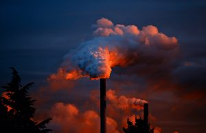 Fumée usine