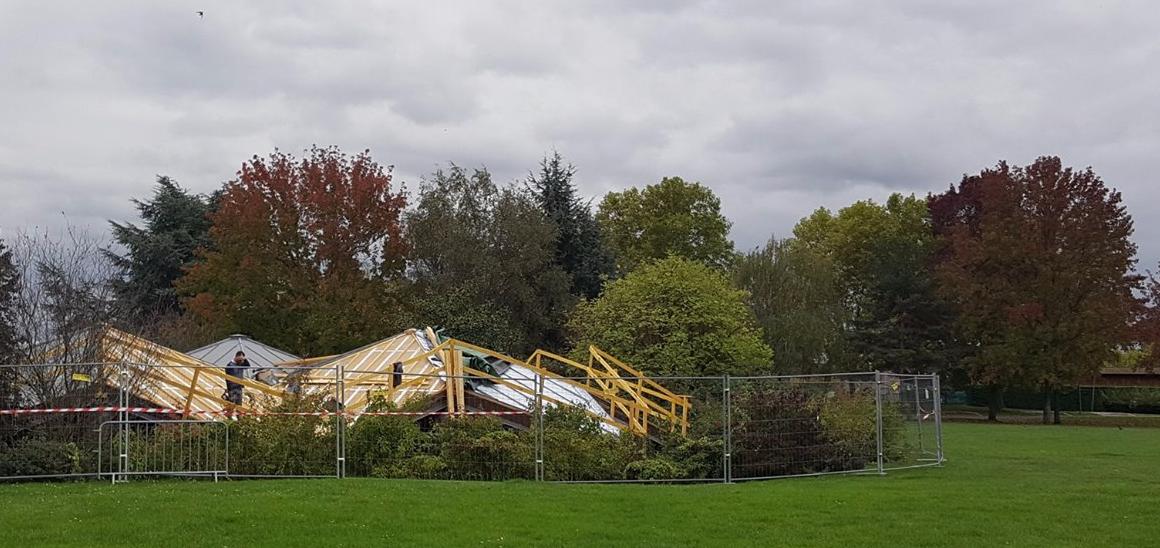 La Maison de la Nature de Créteil s'offre une nouvelle toiture