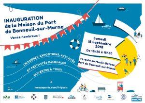 Inauguration de la Maison du Port de Bonneuil