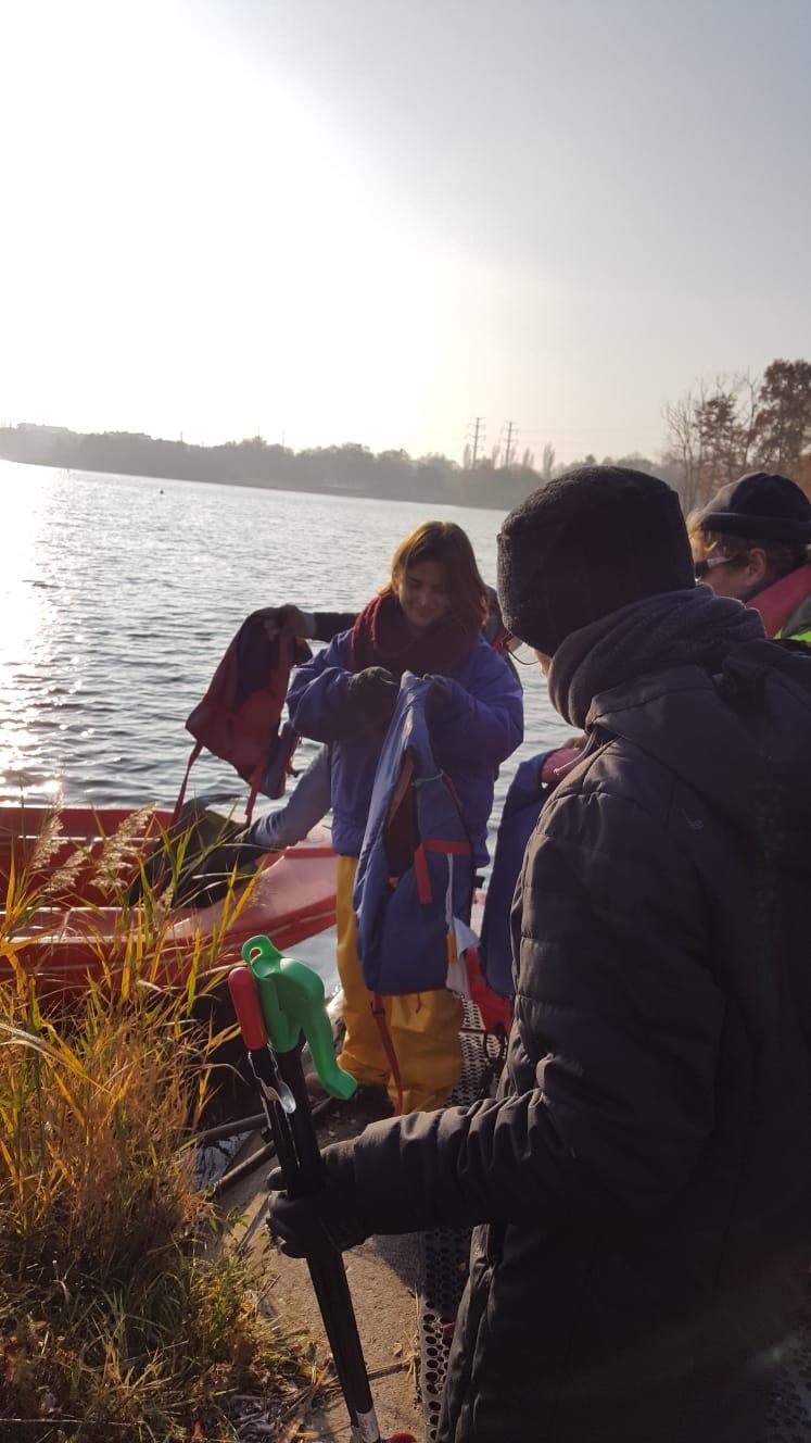 Nettoyage lac
