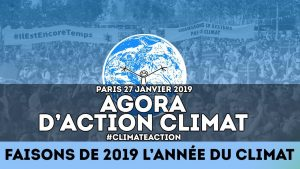 agora action climat janvier 2019