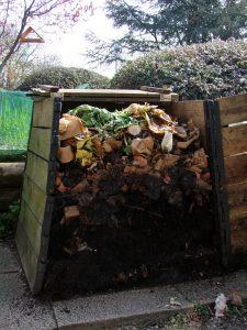 Composteur ouvert